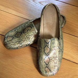 Aerosoles faux snake skin Double Down loafers